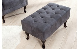 Dizajnerski tabure CHESTERFIELD GREY