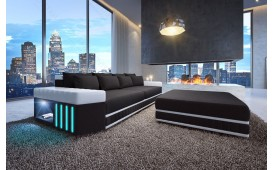 Dizajnerska garnitura Big Sofa SKYLINE sa LED rasvetom