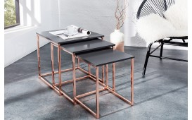 Pomoćni sto UNITY COPPER Set 3
