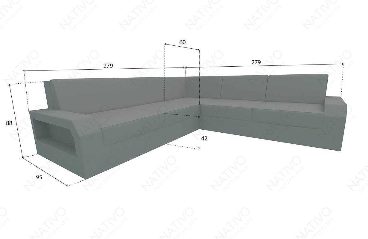 dimenzije ratan garnitura MESIA CORNER v2