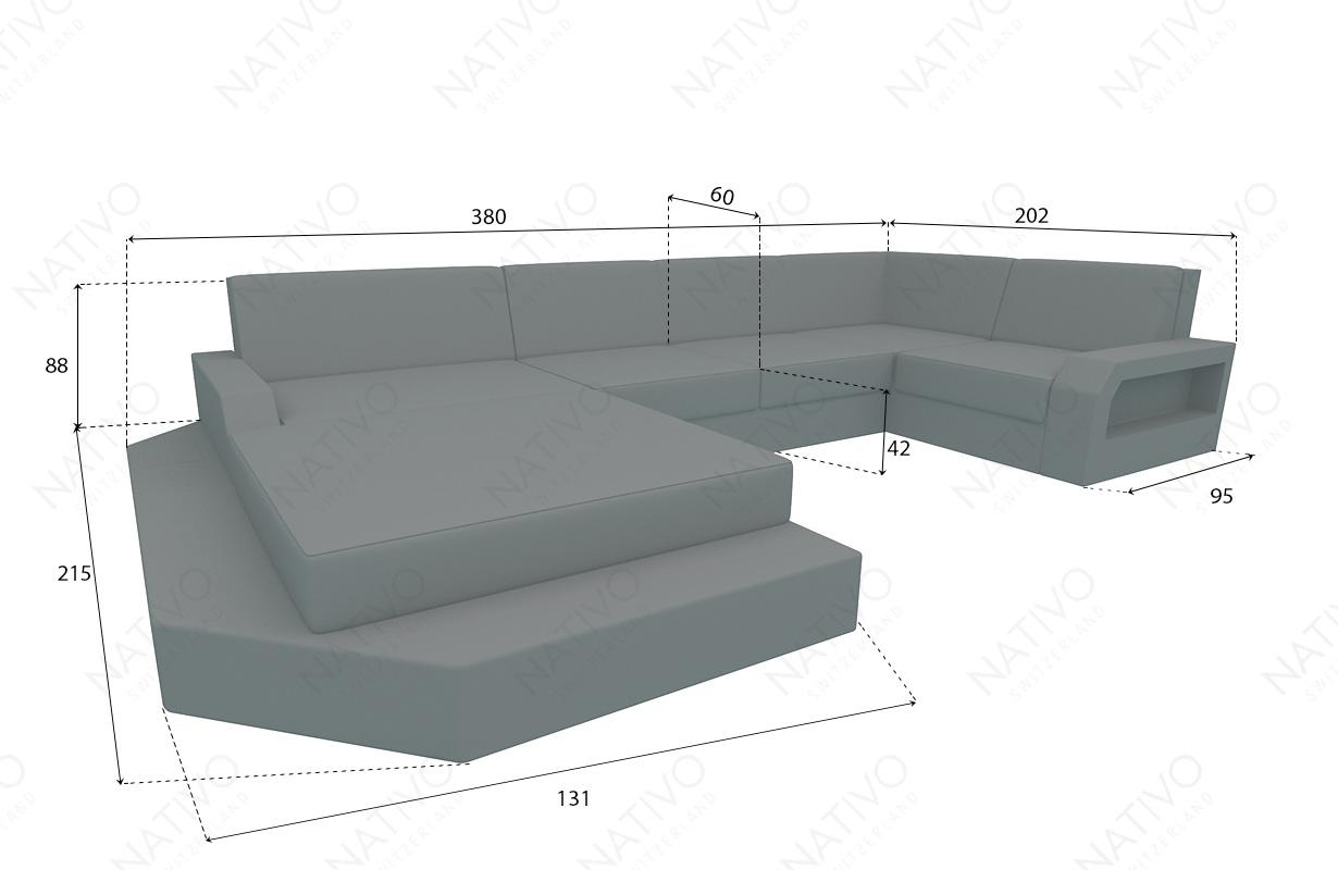 dimenzije ratan garnitura MESIA XL v2