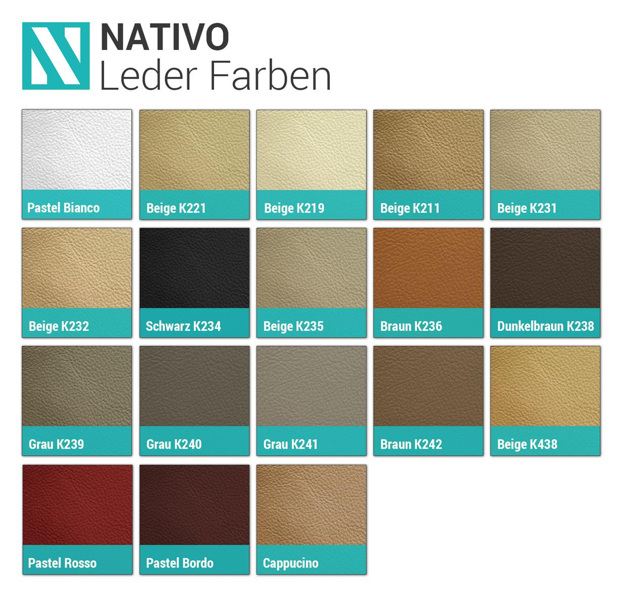 NATIVO™ paleta kožni dizajnerski nameštaj Beograd Srbija