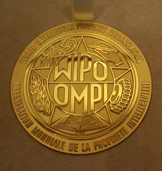 WIPO medalja 2018